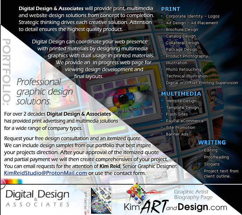 ABOUT: Digital Design and Associates Services