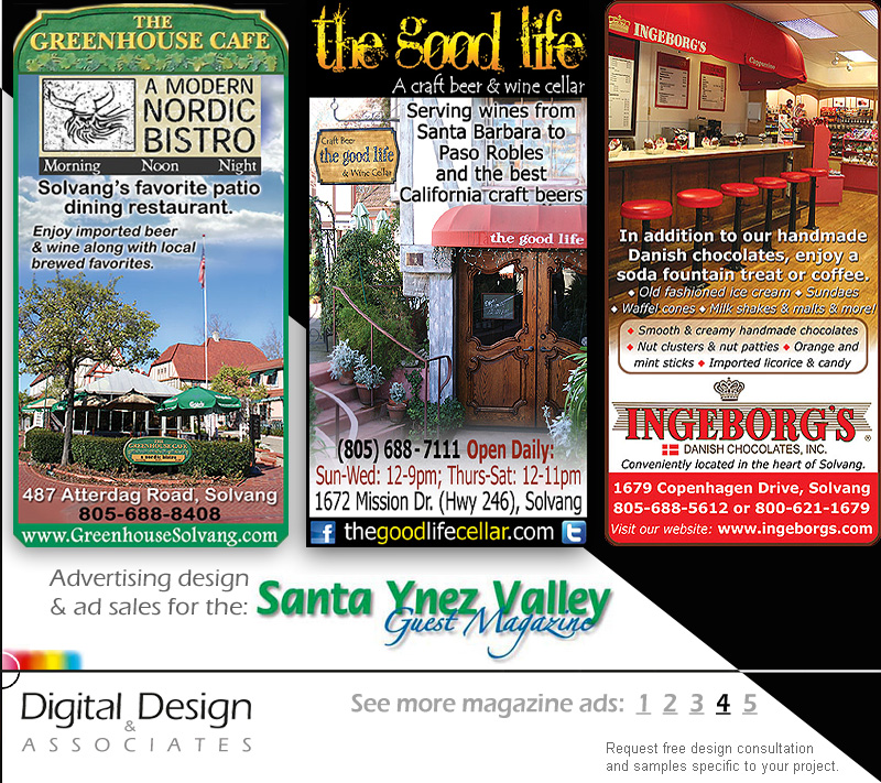 ADVERTISING DESIGN - magazine solutions portfolio