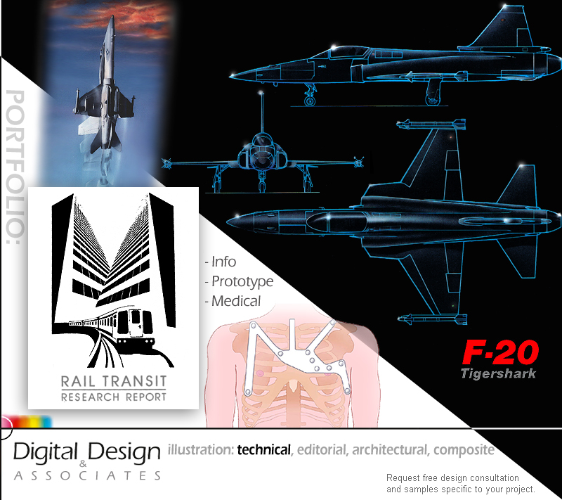 ILLUSTRATION - techincal, medical and information graphics